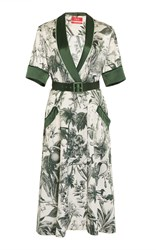 For Restless Sleepers Panacea Wrap Dress Floral