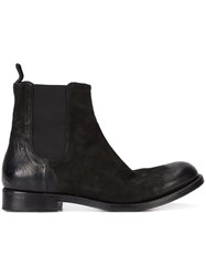 The Last Conspiracy 'Marco' Boots Men Leather Wood 43 Black
