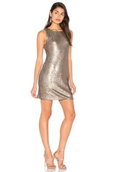 Bb Dakota Penley Dress Metallic Bronze