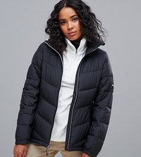 Columbia Pike Lake Jacket In Black 10 Black