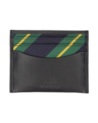 Polo Ralph Lauren Black Contrast Leather Card Wallet