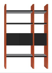 Bdi Semblance 5402 Cb 2 Section Storage System Brown