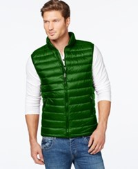 32 Degrees Packable Down Vest Hunter
