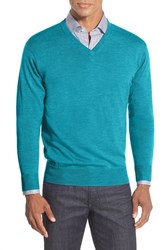 Men's Peter Millar Merino V Neck Sweater Rapids