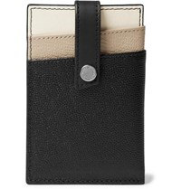 Want Les Essentiels Kennedy Leather Cardholder With Money Clip Black