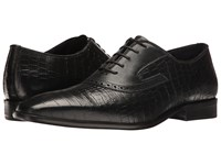 Messico Nester Black Croco Leather Shoes