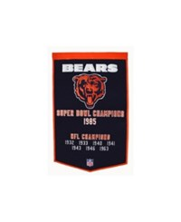 Winning Streak Chicago Bears Dynasty Banner Team Color