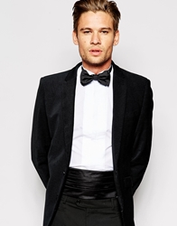 Hugo Boss Cummerbund And Bow Tie Set Black