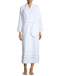 Oscar De La Renta Luxe Spa Long Robe White