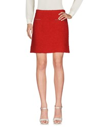 Caractere Mini Skirts Red