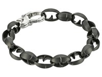 Stephen Webster Steel Thorn Link Bracelet Matte Black Bracelet