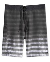 Tavik Men's Road Abstract Print Boardshorts Jet Black