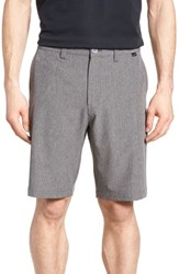 Travis Mathew 'Palladium' Performance Stretch Heathered Golf Shorts Heather Quiet Shade