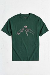 Division Of Labor Rose Tee Dark Green