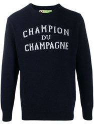 Mc2 Saint Barth Champagne Jumper Blue