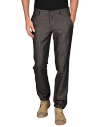 Incotex Red Casual Pants Steel Grey