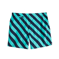 J.Crew Sleepy Jones Jasper Boxers Navy Turquoise