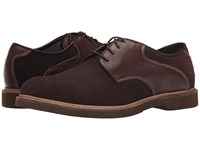 Florsheim Bucktown Saddle Oxford Brown Suede Brown Milled Men's Plain Toe Shoes