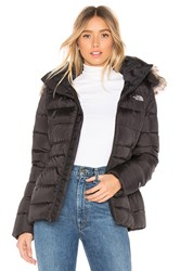 The North Face Gotham Jacket Ii With Faux Fur Trim Black