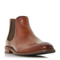 Dune Menica Natural Sole Chelsea Boots Tan