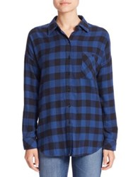 Rails Jackson Gingham Shirt Blue Black Check