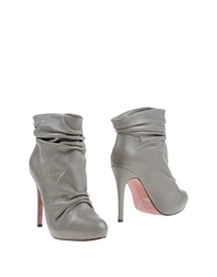 Luxury Rebel Ankle Boots Grey