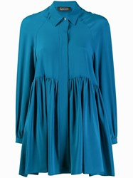 Gianluca Capannolo Tunic Blouse Blue