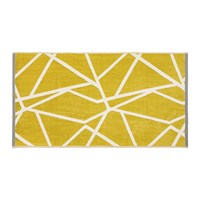 Harlequin Sumi Towel Gold And Grey Yellow