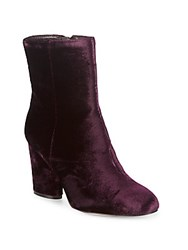 Saks Fifth Avenue Designed Booties Burgundy