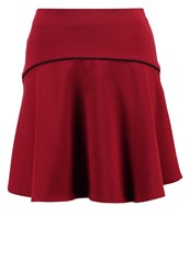 Mintandberry Aline Skirt Chocolate Truffle Bordeaux