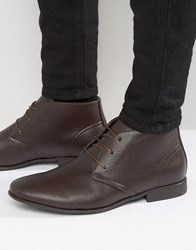 Asos Chukka Boots In Brown Brown