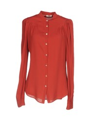 Roy Rogers Roger's Shirts Brick Red