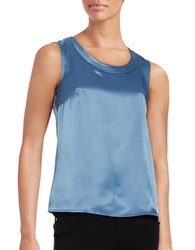 Nipon Boutique Sleeveless Shell Grey Frost