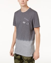 American Rag Men's Ombre Patch T Shirt Created For Macy's Clean Coal
