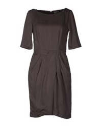 Komodo Short Dresses Dark Brown