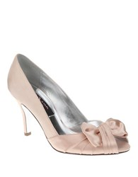 Nina Forbes Satin Pumps Black
