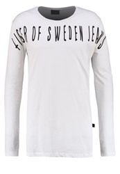 Tiger Of Sweden Jeans Grit Long Sleeved Top Offwhite Off White