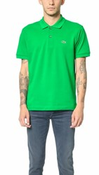 Lacoste Short Sleeve Classic Polo Shirt Chlorophyll Green