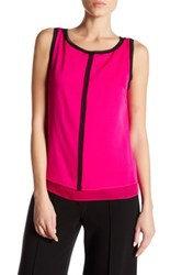 Milly Two Tone Silk Blend Shell Pink