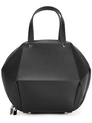 Issey Miyake Pleats Please By Structured Tote Black