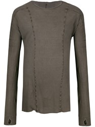 Masnada Panelled Long Sleeve Top 60