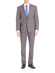 Polo Ralph Lauren Purple Label Classic Fit Plainweave Suit Light Grey