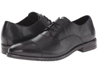 Frye Sam Oxford Black Hand Antiqued Full Grain Men's Lace Up Cap Toe Shoes
