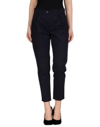 Erika Cavallini Semi Couture Erika Cavallini Semicouture Casual Pants Dark Blue