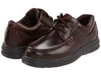 Hush Puppies Gus Dark Brown Leather Lace Up Casual Shoes