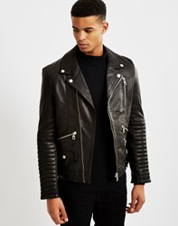 Eleven Paris My Biker Leather Jacket Black
