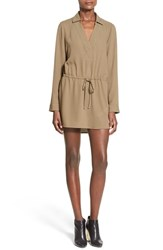 Women's Leith 'Henley' Shirtdress