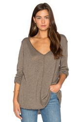 Project Social T Maria Long Sleeve Taupe