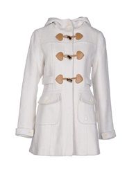 Duck Farm Coats White