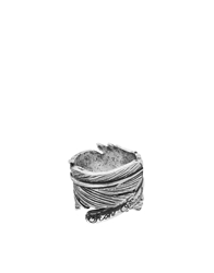 Icon Brand Feather Ring Silver